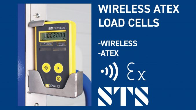 Wireless ATEX Load-Cell Handling Equipment (Option: -WLC)