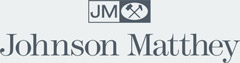 The company logo of STS customer Johnson Matthey.