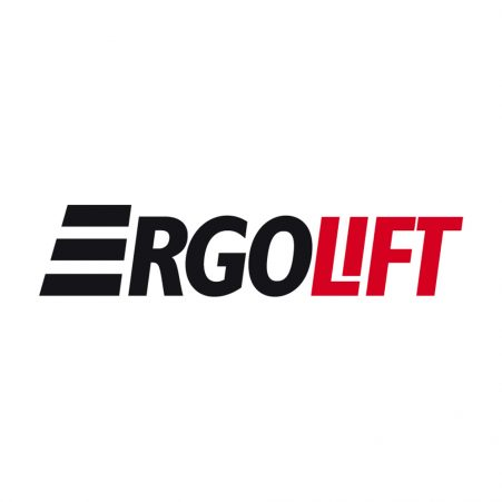 The logo for Ergolift Website Logo, a distributor of STS materials handling solutions in Finland.