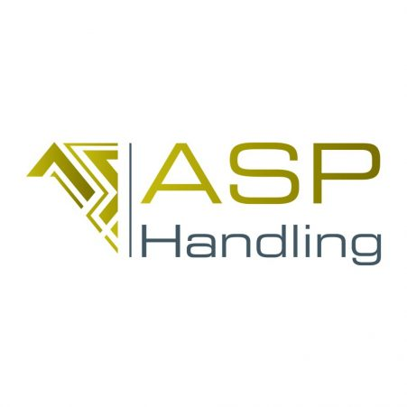 The logo for ASP, a distributor of STS materials handling solutions in Belgium.