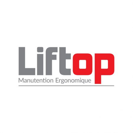 The logo for Liftop, a distributor of STS materials handling solutions in France.