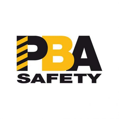 The logo for PBA, a distributor of STS materials handling solutions in Australia.