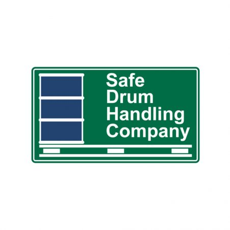 The logo for Safe Drum Handling Company, the US distributor of STS handling equipment.