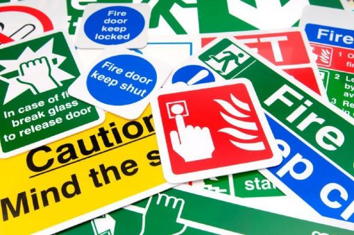 Correct signage forms part of drum handling safety