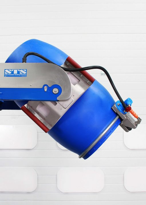 Bespoke Head Design on Vibrating Power Drive Power Clamp Unit