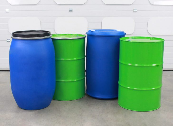 Varying sizes of drums that can be accommodated by the STS drum dispenser cradle