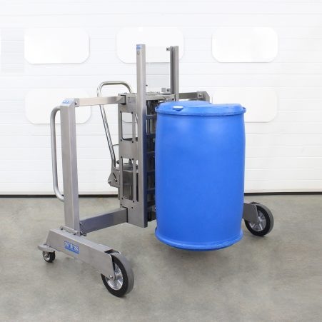 Stainless Steel Drum Lifter suitable for plastic drums.