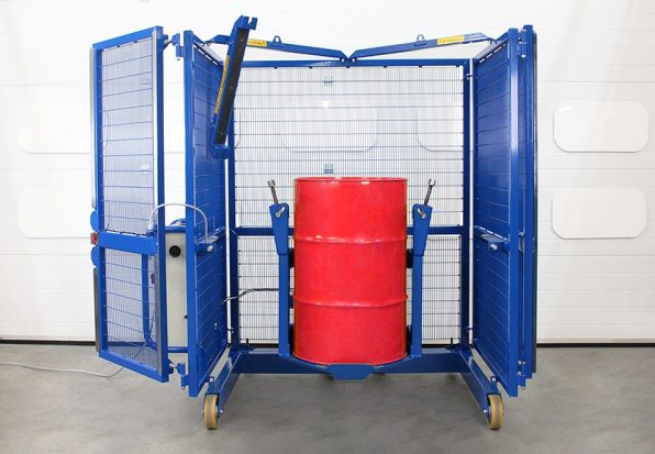 Drum tumbler with 200 litre drum