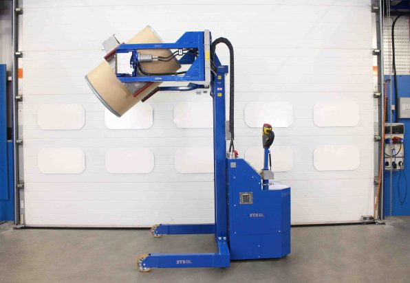 ncrease manufacturing efficiency with a power drive drum handler