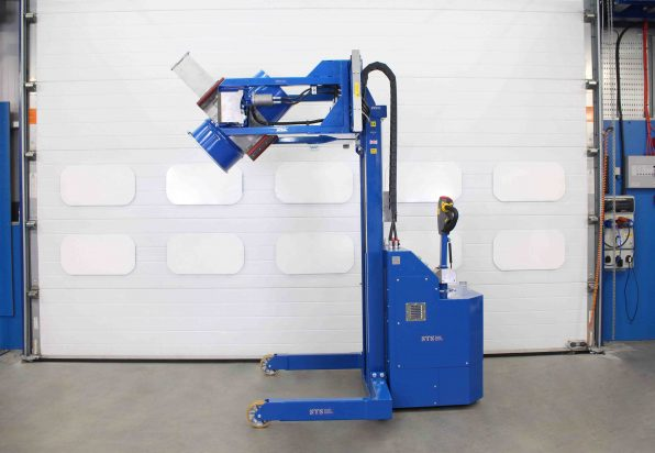 he powered arms offer fast operation for busy time-critical processes