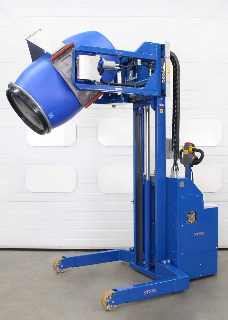 Each power drive drum rotator model is designed, built and tested in our UK manufacturing facility.