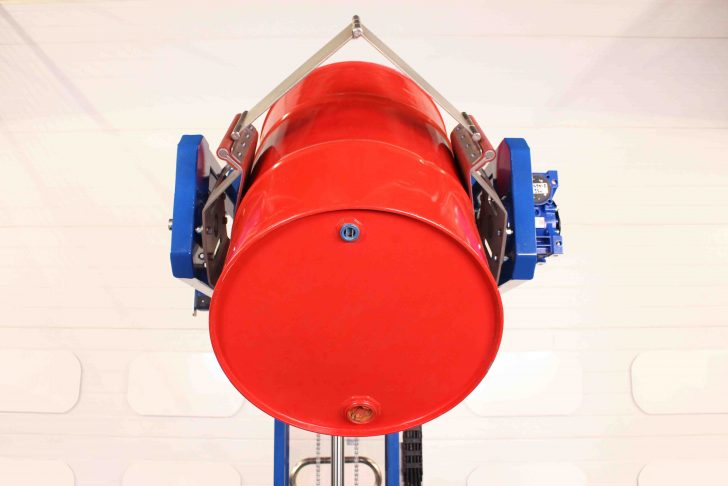 Image of the flexible clamping pads suitable for 50-220 litre drums