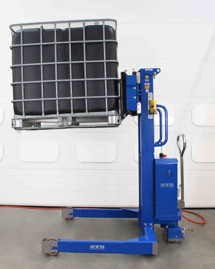 Lifting channels for the Pneumatic ATEX forked stacker with wireless load cells
