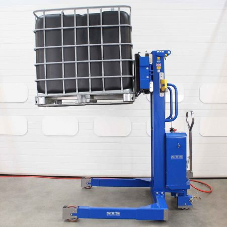 ATEX Pneumatic Forked Stacker with Load Cells