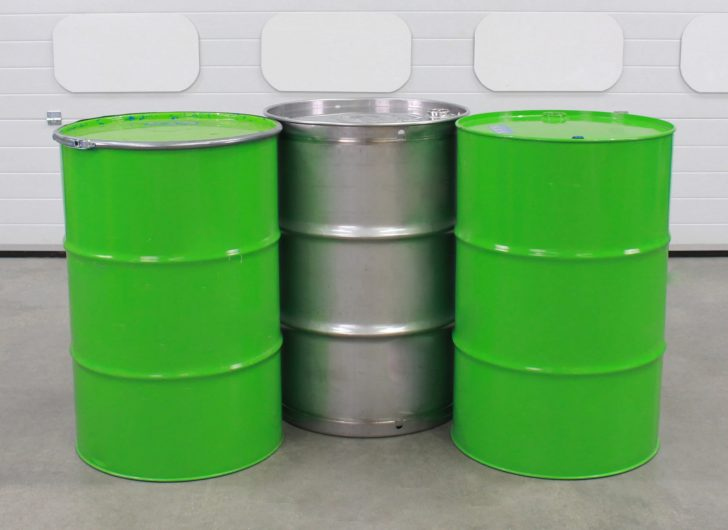 Varying sizes of drums that can be accommodated by the STS drum lever bars
